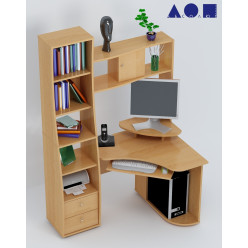Угловой компьютерный стол С815