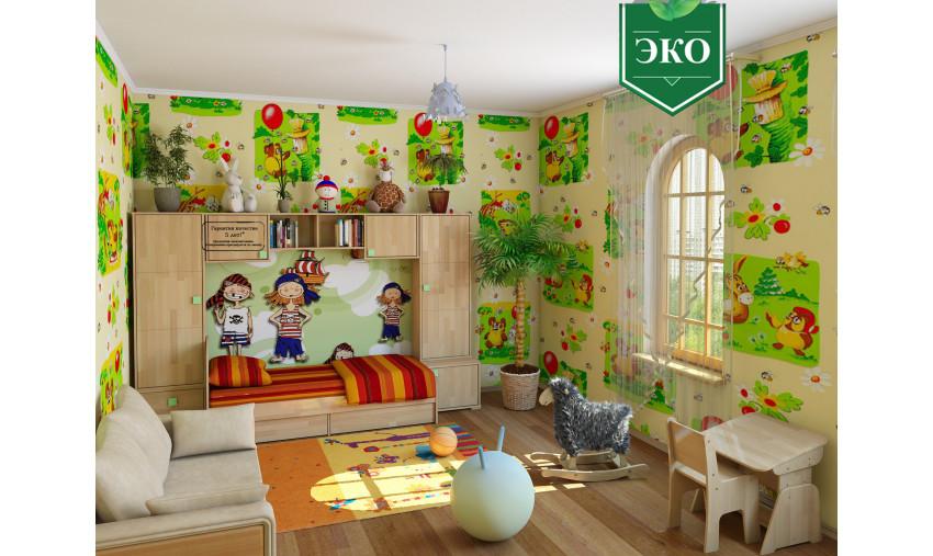 Детская деревянная мебель Школярик+Акварель
