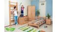 Детская деревянная кровать Лидер