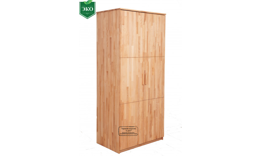 Деревянный шкаф Лидер