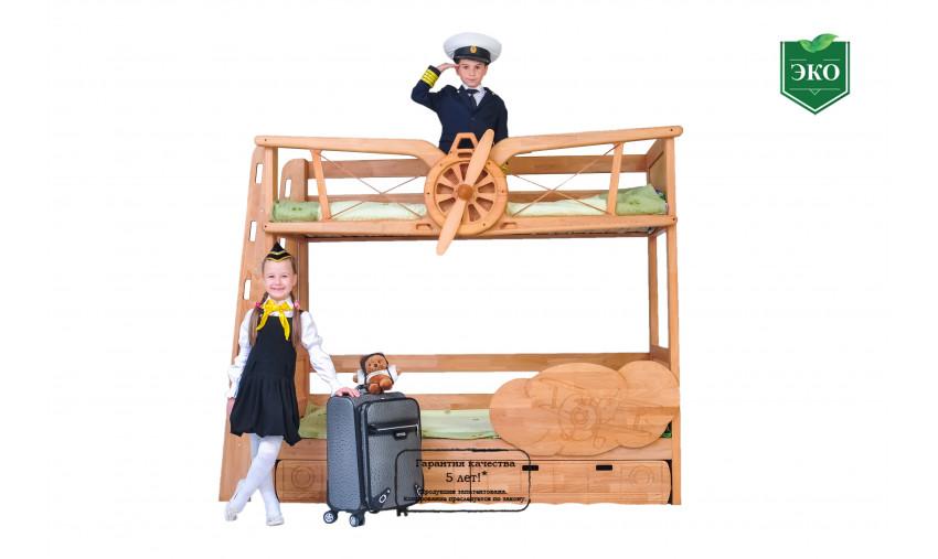 Двухъярусная кровать Пилот