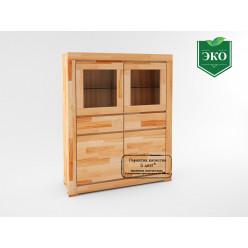 Деревянный шкаф в гостиную Копенгаген 2234