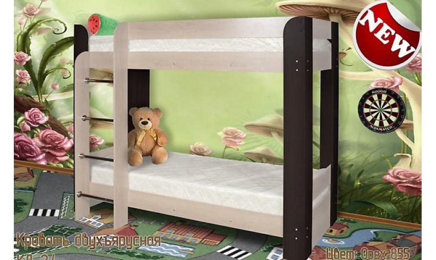 Кровать двухъярусная КД-2.4