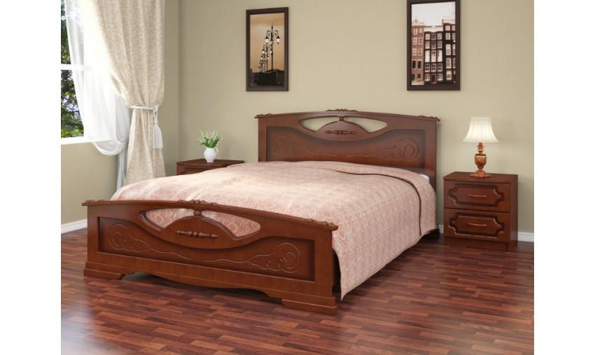 Деревянная кровать Елена-2
