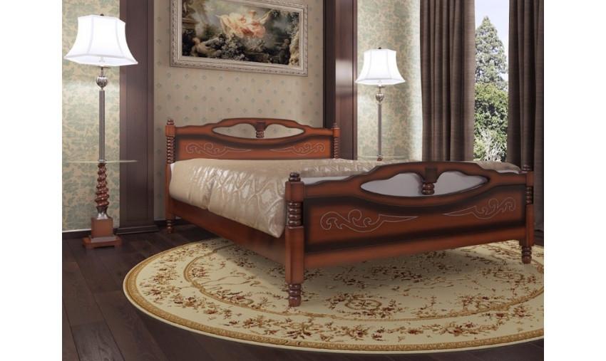 Деревянная кровать Елена-4
