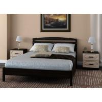 Деревянная кровать Камелия-1