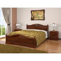 Деревянная кровать Карина