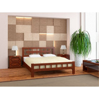 Деревянная кровать Натали-5