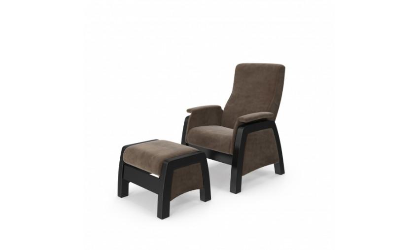 Кресло-глайдер Balance 1 с пуфом (Баланс)