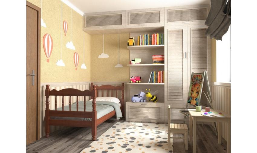 Деревянная кровать Аленка
