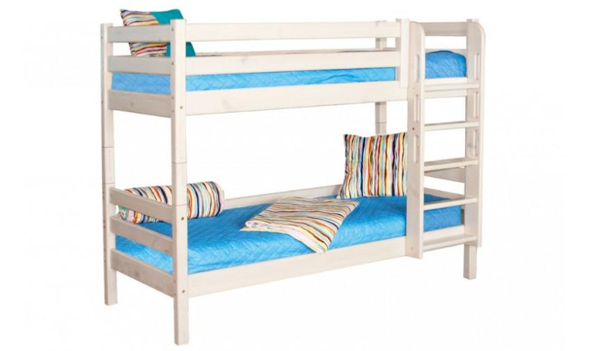 Детская двухъярусная кровать Соня с прямой лестницей В9