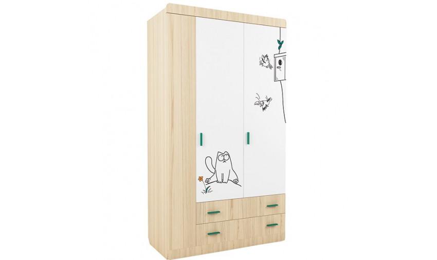 Детский шкаф Кот-25