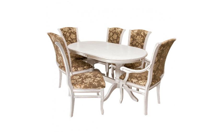 Стол деревянный Восток-3+стулья Лотос