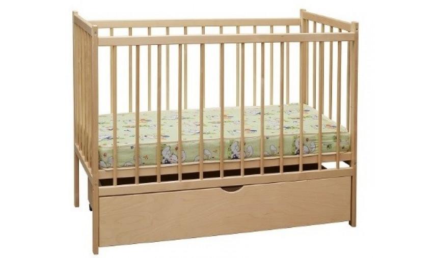 Детская кровать из массива дерева БЕР-1