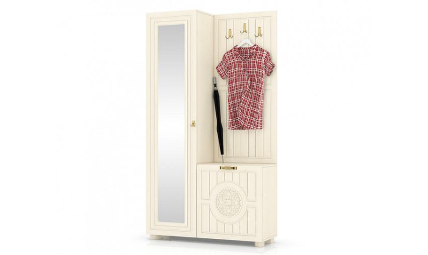 Шкаф комбинированный Монблан МБ-10