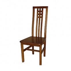 Деревянный стул Домино твердое сиденье