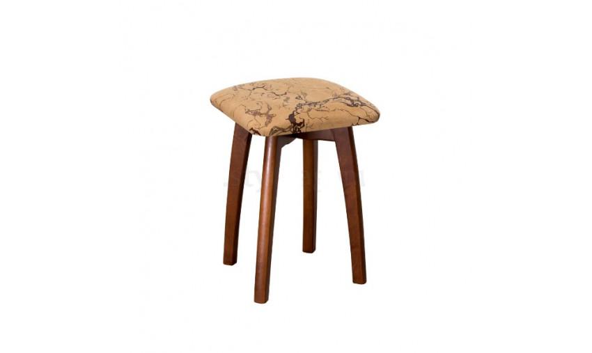 Табурет деревянный Шик с мягким сиденьем