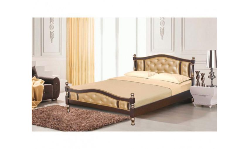 Кровать деревянная Агата 2