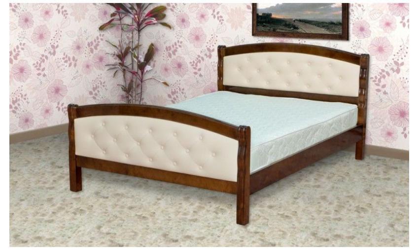Кровать деревянная Дебют