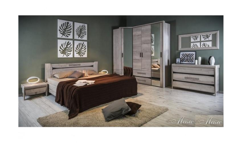 Спальня модульная Мале