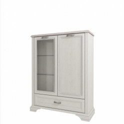 Шкаф с витриной 1V1D1SL Monako (Монако)