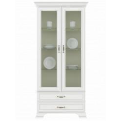 Шкаф с витриной 2V2S Tiffany (Тиффани)