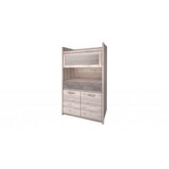 Шкаф с витриной 1V2D1S Jazz (Джаз)