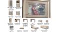 Шкаф с витриной 1V1D1S/D Дизель