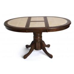 Стол круглый раскладной с плиткой CT 4257