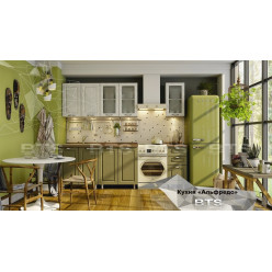 Кухня модульная Альфредо комплектация 2