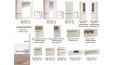 Шкаф с витриной 3D-1S/TYP 33 Линате